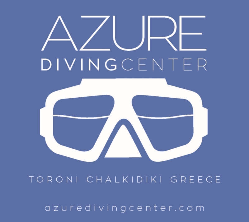 Azure Diving Center logo neg